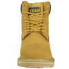 Mens Boots Oil Resistant Steel Toe Work or Hiking Shoes Tan