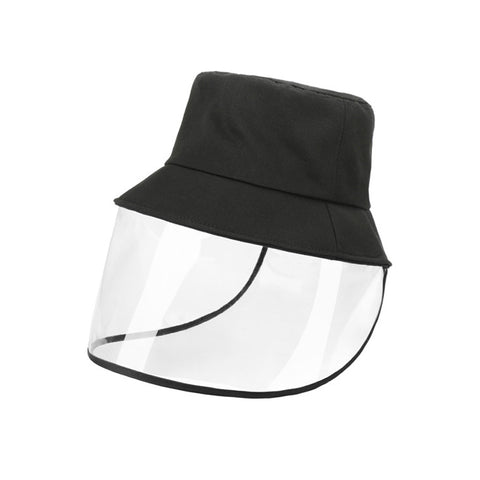 Anti-Saliva Fisherman Protective Face Shield Dust-proof Sun Visor Hats