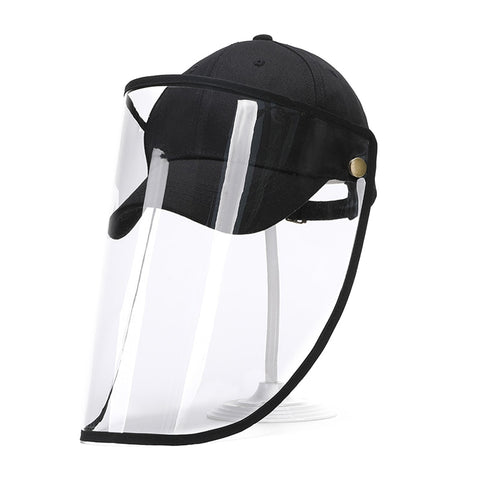 Face Protection Detachable Shield Screen Mask Anti-Dust Cap