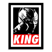 poster - Black Panther - KING - Black Panther - KING|stikeo.com