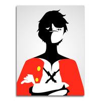 poster - One Piece - Minimal Luffy - One Piece - Minimal Luffy|stikeo.com