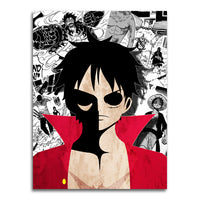 poster - One Piece - Angry Luffy - One Piece - Angry Luffy|stikeo.com