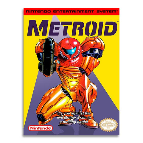 Retrogaming - Metroid - Nes Cover