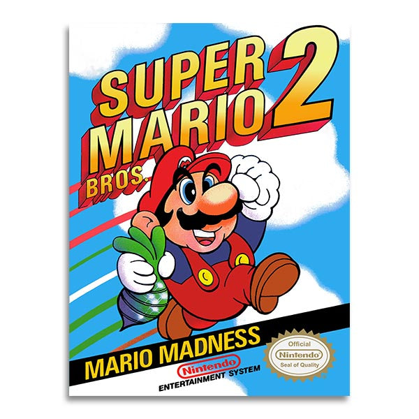 Retrogaming - Super Mario 2