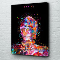 tableau - C3PO - PoP Art - C3PO - PoP Art|stikeo.com