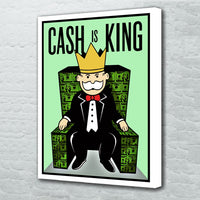 tableau - Cash is King - Cash is King|stikeo.com