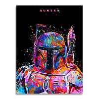 tableau - Jango Fett - PoP Art - Jango Fett - PoP Art|stikeo.com