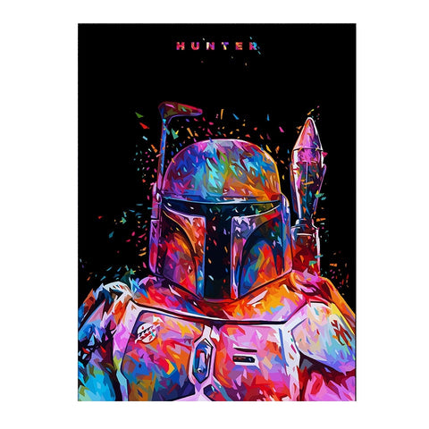 Affiche Jango Fett - PoP Art