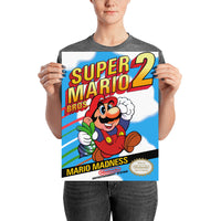 poster - Retrogaming - Super Mario 2 - Retrogaming - Super Mario 2|stikeo.com