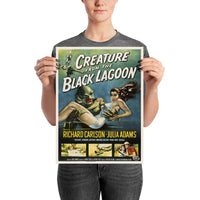 poster - Affiche Vintage - Creature of the black lagoon - Affiche Vintage - Creature of the black lagoon|stikeo.com