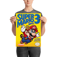 poster - Retrogaming - Super Mario 3 - Retrogaming - Super Mario 3|stikeo.com
