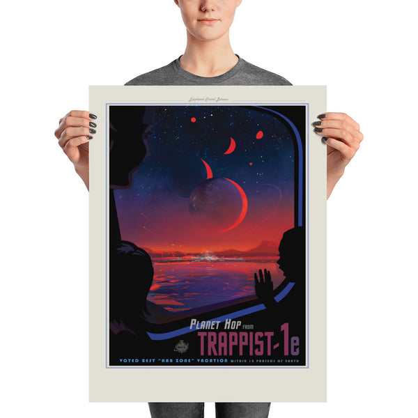 Trappist - Tourisme Spacial - NASA/JPL