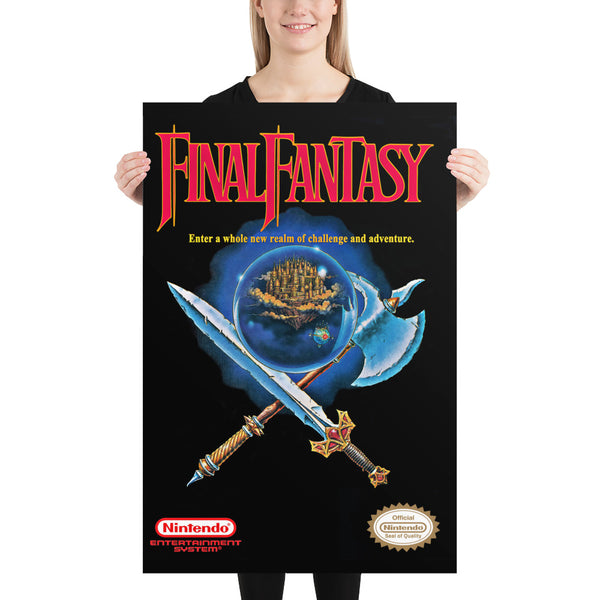 Nes cover Final Fantasy