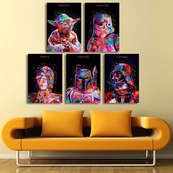 Dark Vador - PoP Art | tableau & poster | STIKEO.COM