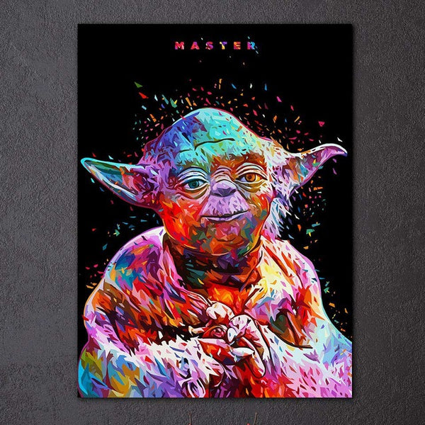 Yoda - PoP Art | tableau & poster | STIKEO.COM