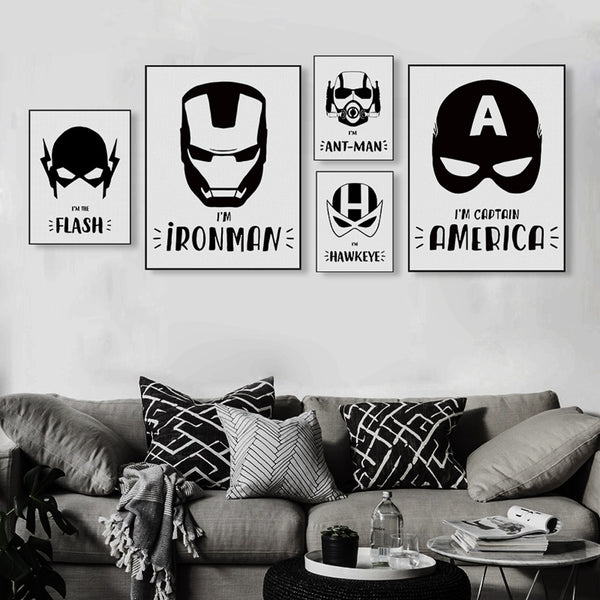 """Super Hero Mask Collection"" 