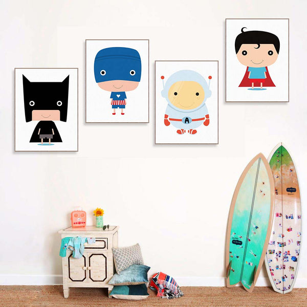 """ Little Superhero"" 