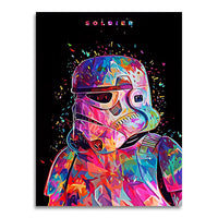 tableau - Stormtrooper - PoP Art - Stormtrooper - PoP Art|stikeo.com