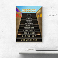tableau - Success Stair - l'escalier du succès - Success Stair - l'escalier du succès|stikeo.com