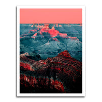 poster - Sunset On The Canyon - Sunset On The Canyon|stikeo.com