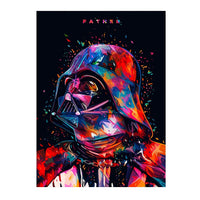 poster - Affiche Dark Vador - PoP Art - Affiche Dark Vador - PoP Art|stikeo.com