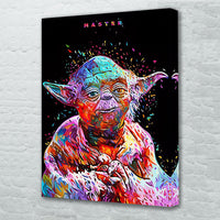 tableau - Yoda - PoP Art - Yoda - PoP Art|stikeo.com