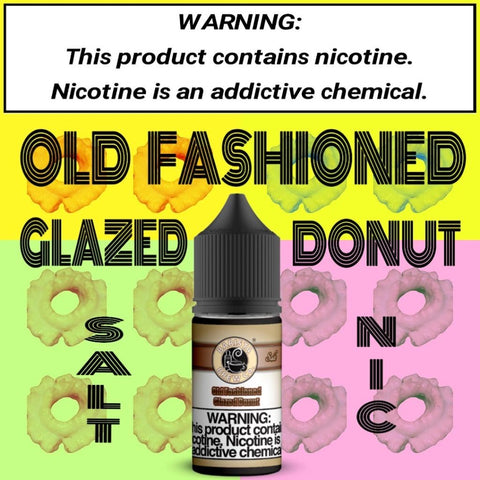 **Salt Nic** Old Fashioned Glazed Donut- Not for SubOhm Use