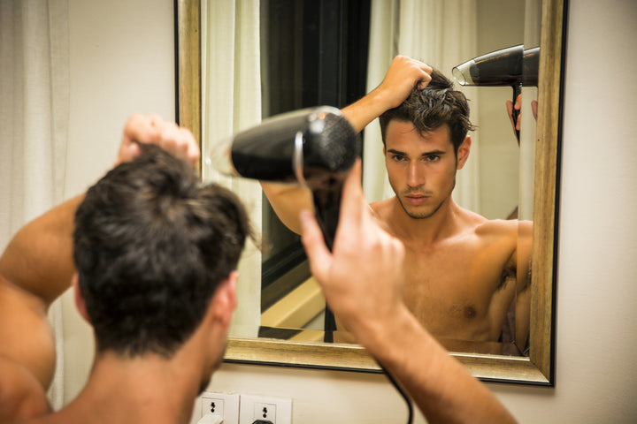 How to Blowdry Your Hair (for guys)