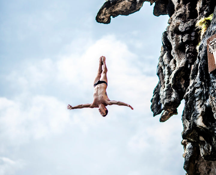 Morning Routine Of The World's Top Competitive Cliff Diver