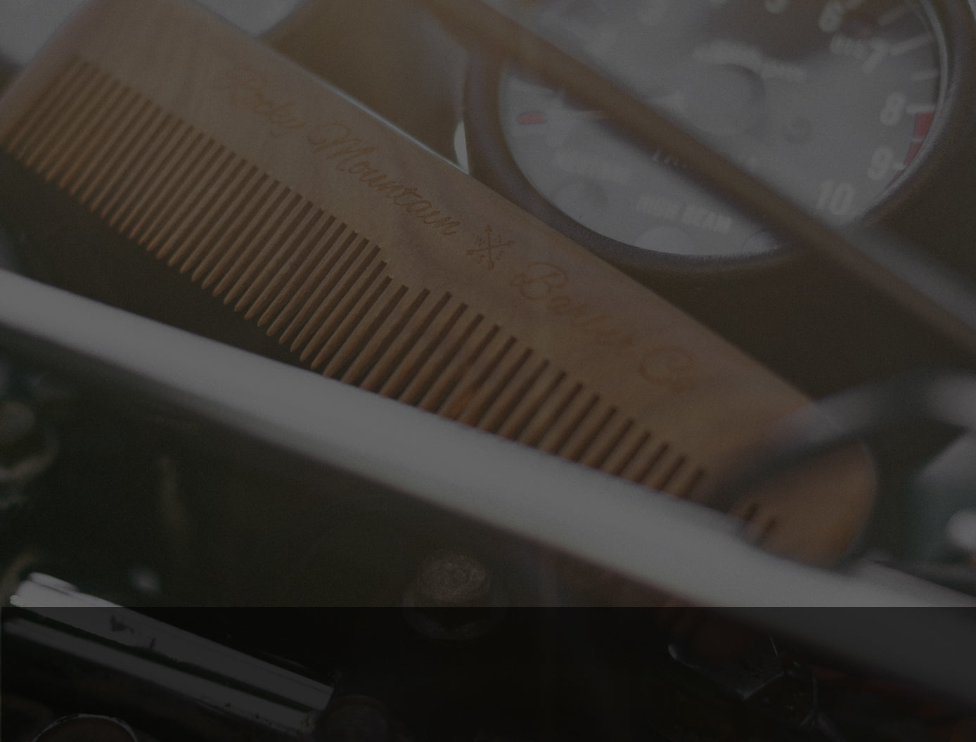 Men's Hair Combs