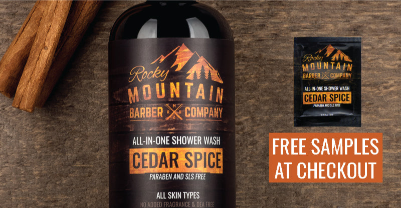 cedar spice shower wash