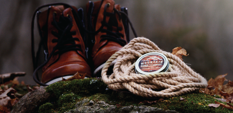 beard balm with shoes