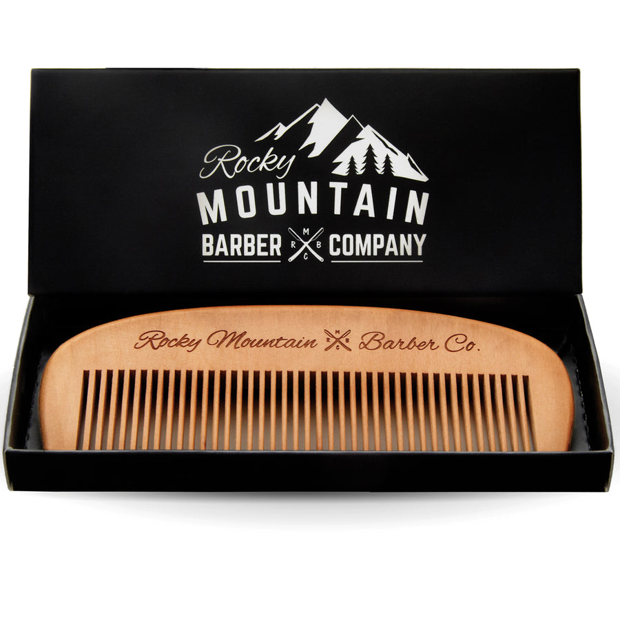 Hair Pomade (5 oz) and Comb