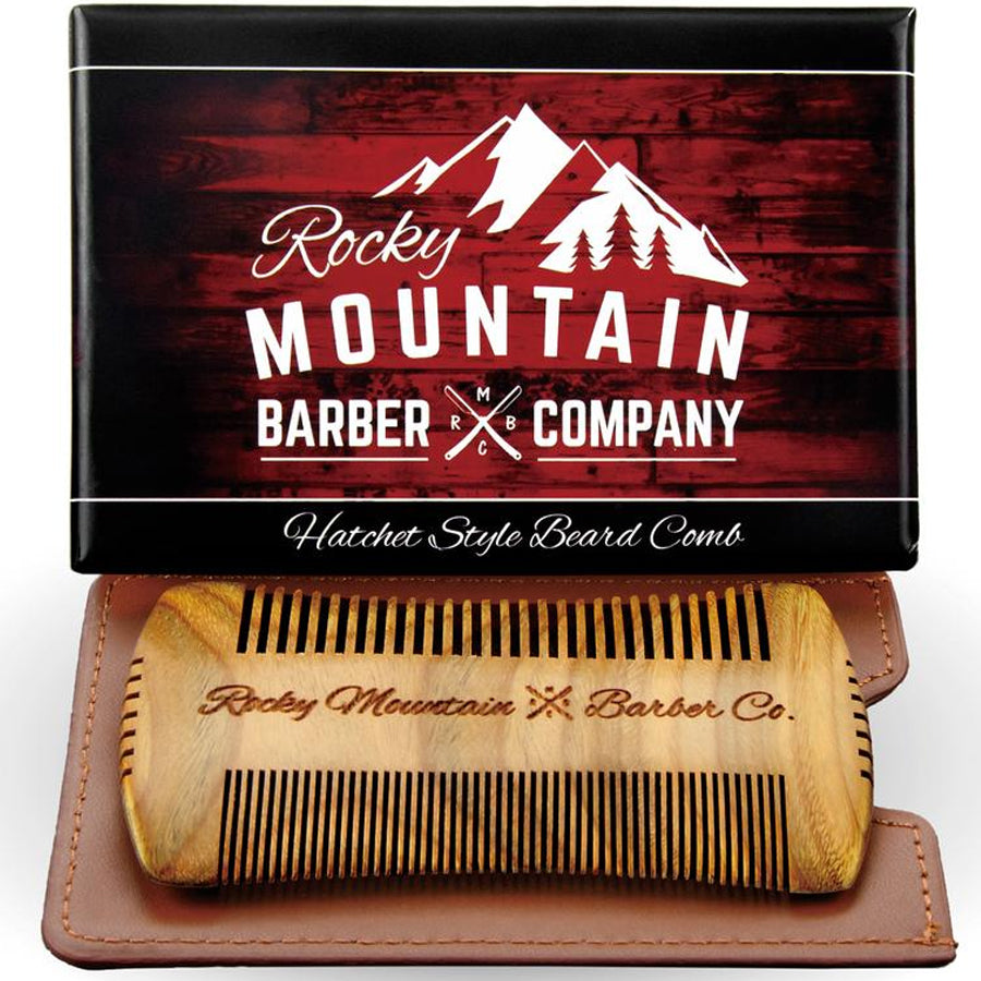 Hatchet Edge Sandalwood Beard Comb
