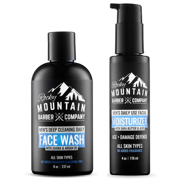 Face Wash & Moisturizer