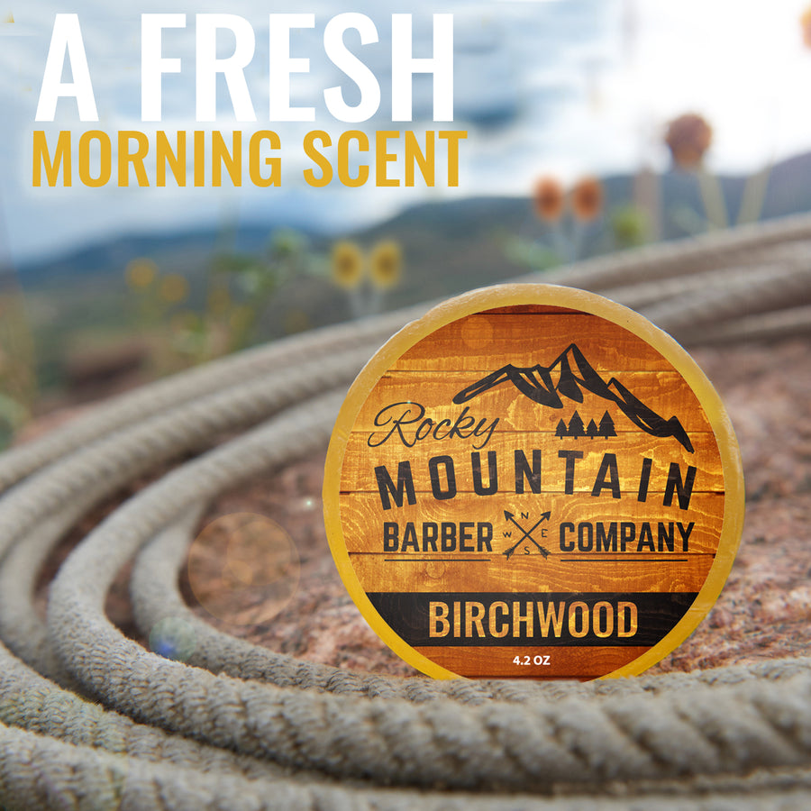 Birchwood Soap In Nature