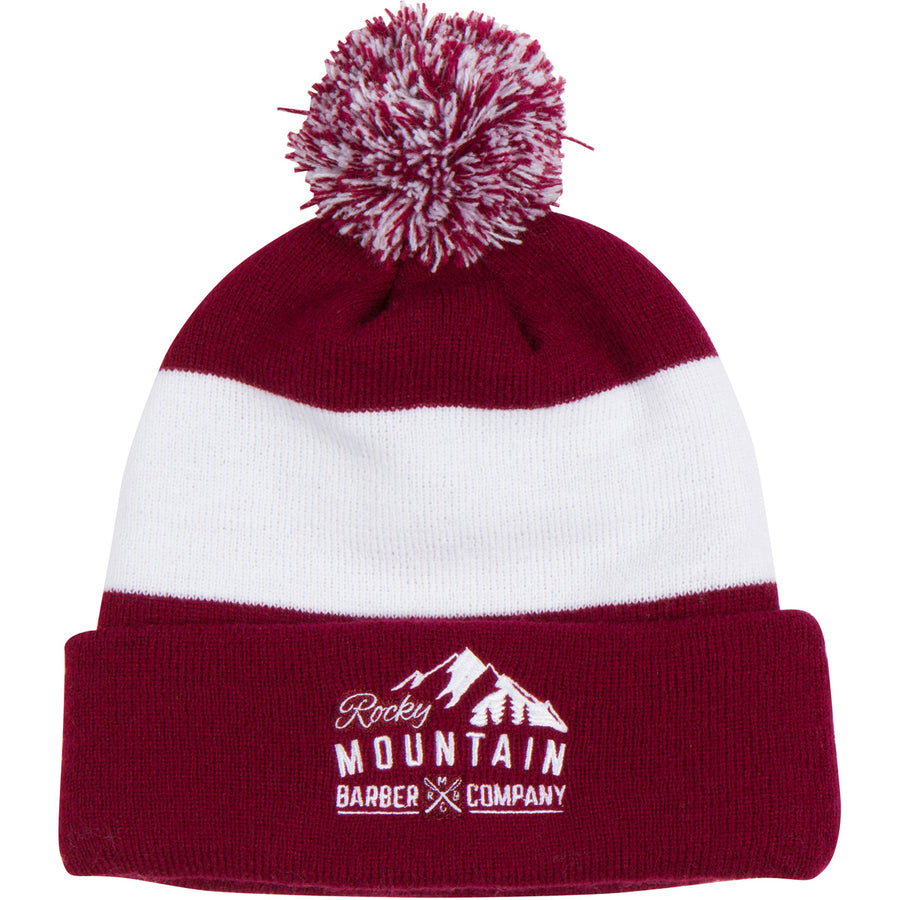 Rocky Mountain Barber Maroon Toque