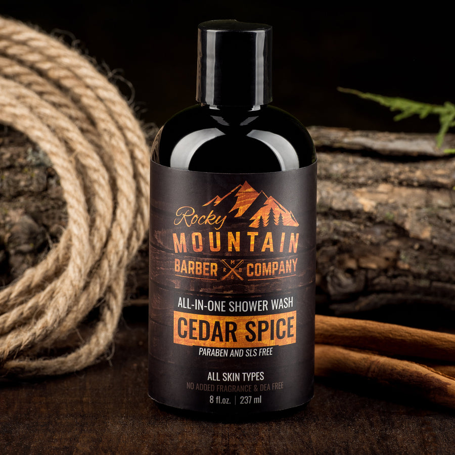 Rocky Mountain Barber Company Cedar Spice Shower Wash In Nature