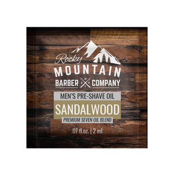 Sandalwood Pre-Shave Oil (Sample Size)