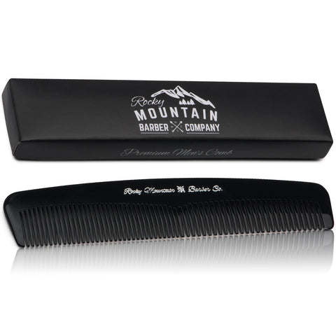 Hair Comb – Plastic Modern Fine and Medium Tooth Comb
