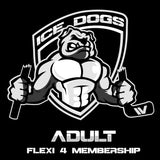 2018 ADULT FLEXI 4 Sydney Ice Dogs Membership Pass