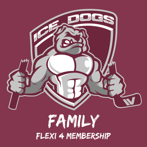 2019 FAMILY FLEXI 4 Sydney Ice Dogs Membership Pass