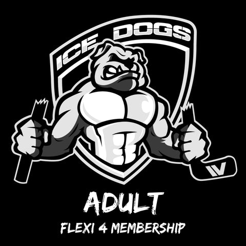 2020 ADULT FLEXI 4 Sydney Ice Dogs Membership Pass