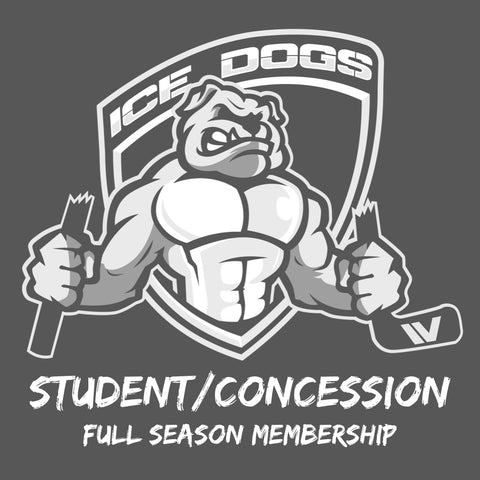 2021 CONCESSION Ice Dogs Member Pass