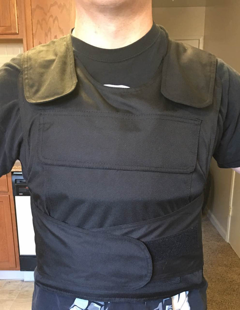 Level III-A Bullet Proof Vest With Tungsten Titanium Carbide Steel Plates