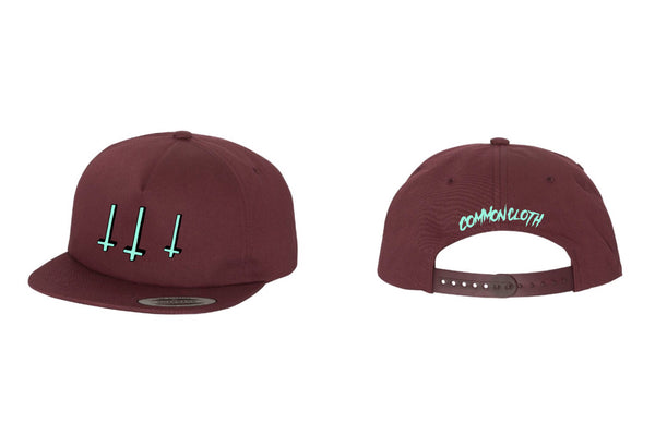 "cc ""land of no religion"" cap"