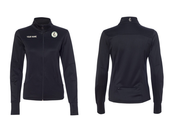 UCSD PCU Women's Full Zip Fitted Jacket
