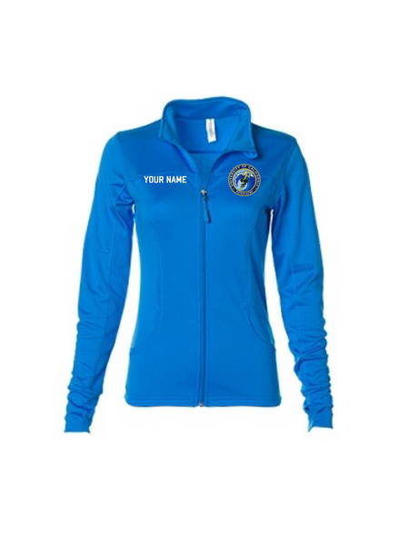 UCSD Women's Full Zip Fitted Jacket