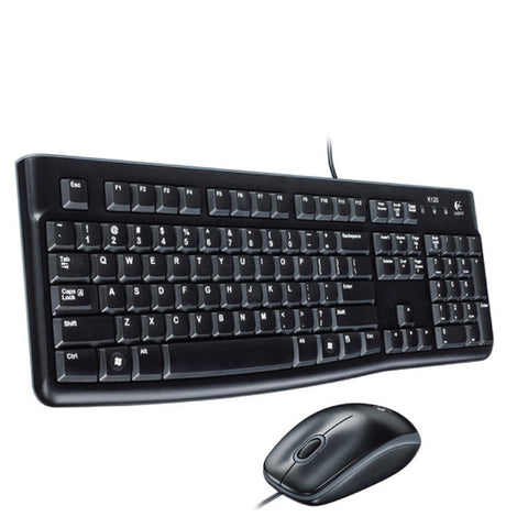 Logitech MK120 USB Keyboard and Mouse Combo