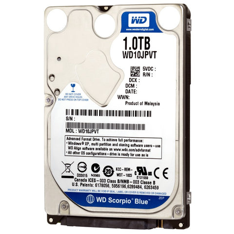 WD Blue 1TB PC Mobile Hard Drive